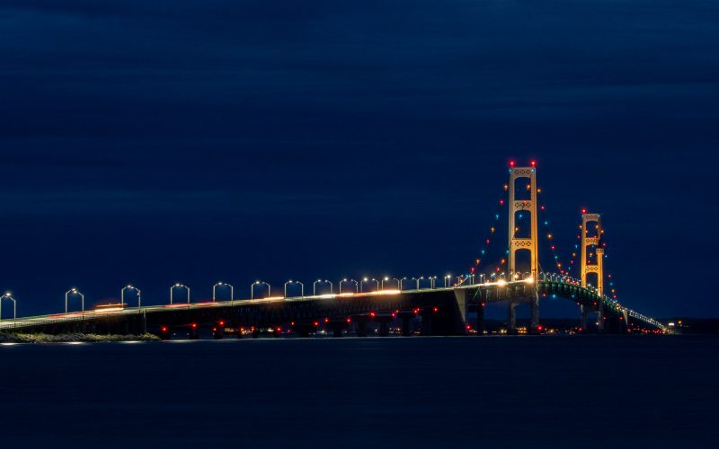 Mackinac City & Bridge